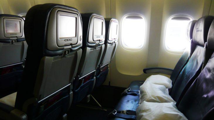 ニュージーランド航空の機内での過ごし方